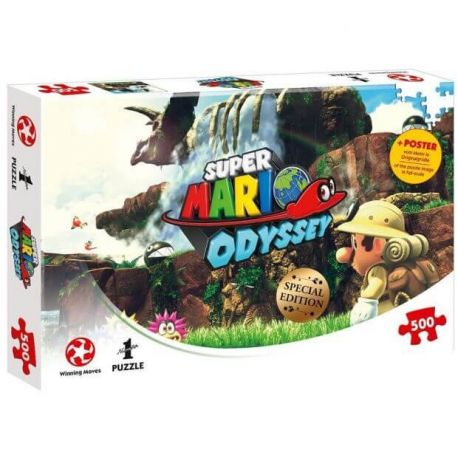 Puzzle Super Mario Fossil Falls