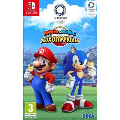 Mario & Sonic aux Jeux Olympiques de Tokyo 2020 Switch