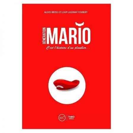 Livre Mario - Génération Mario, l'histoire d'un plombier