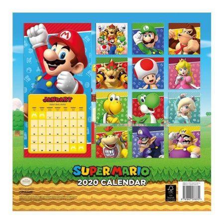 Calendrier Super Mario 2020
