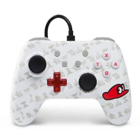 Manette filaire Mario Odyssey - Switch