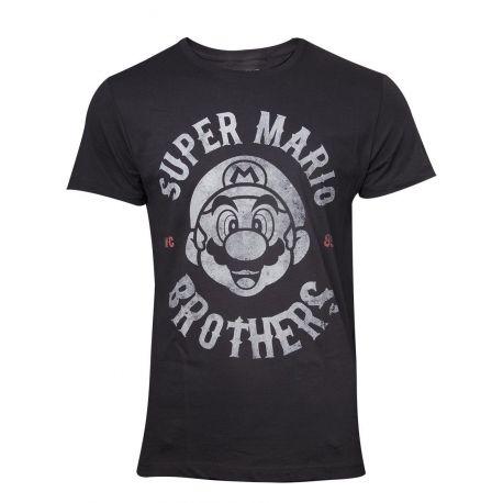 T shirt Mario Bros Biker - Nintendo