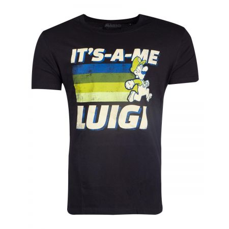 T shirt Super Mario Homme -It's a me Luigi
