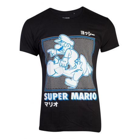 T-shirt Super Mario avec Yoshi courant - Nintendo