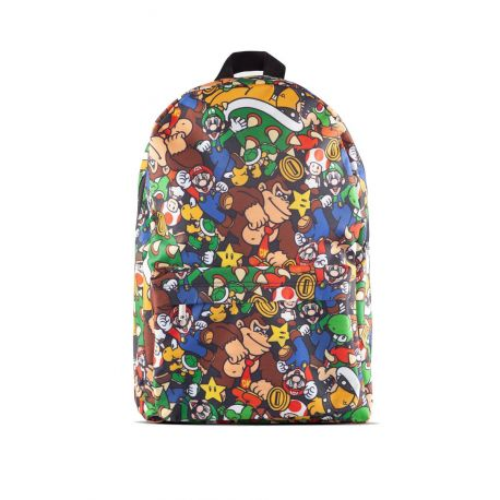 Sac à dos personnages de Super Mario - multicolore