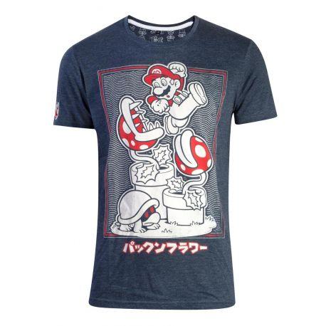 T-shirt Super Mario avec plante Piranha - Nintendo