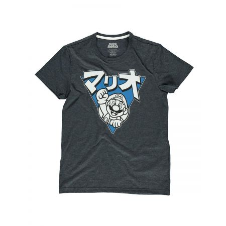 T-shirt Mario Triangle pour homme - Nintendo