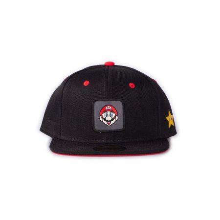 Casquette Mario Bros noire et rouge - Nintendo