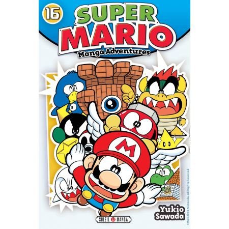 Mario Adventures T.16 - Manga Super Mario Adventures