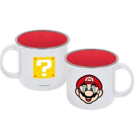 Mug Super Mario - Super étoile et Mario