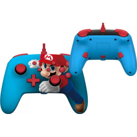Manette Mario Punch filaire - Nintendo Switch